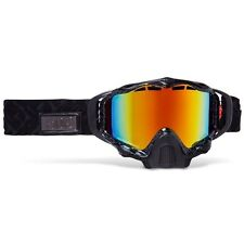 509 Sinister X5 Snow Goggles- BLACK FIRE Orange to Dark Blue Photochromatic -New