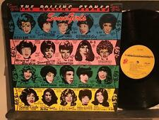 ROLLING STONES SOME GIRLS~1978 ORIG BANNED FACES COVER~DIE-CUT~LUCY BALL~BARDO