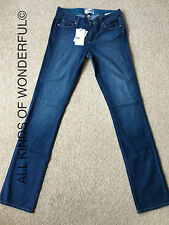 Paige Jeans Skyline Straight in Hadley ( mid blue) RRP £205 BN With Tags