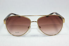 New Authentics BURBERRY BE3084-1052/13 Gold / Brown Gradient Sunglasses