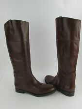 NEW Enzo Angiolini Ellerby Leather Zip Up Over the Knee Boots MULTIPLE COLORS