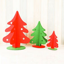 New Christmas Tree Hangers Xmas Window Table Decoration Ornament Party Holiday