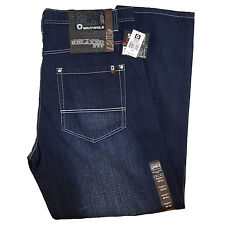 SOUTHPOLE MEN'S BIG AND TALL 4187-1043 DARK SAND BLUE (Size 44-52 Available)