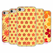 HEAD CASE DESIGNS FLORAL PATTERN SOFT GEL CASE FOR APPLE iPHONE 7