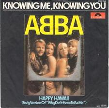 """Abba Knowing Me Knowing You 7"""" vinyl single record German 2001703 POLYDOR 1976"""
