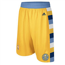 Denver Nuggets Youth NBA Replica Shorts - Gold