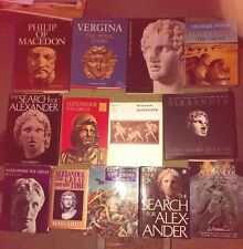 BOOKS ON ALEXANDER THE GREAT AND PHILIP OF MACEDON