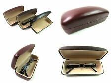 Glasses Sunglasses Spectacles Case Hard Fully Lined Protective PU Covered Travel