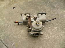 Triumph Spitfire intake manifold and carburetor with manual choke for 1296/1500