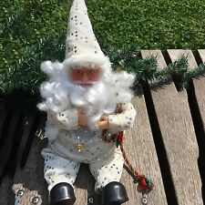 Christmas Sitting Santa Claus Doll Home Ornament Decoration Christmas Toy Gift