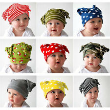 Unisex Baby Cap Beanie Boy Girl Toddler Infant Children Cotton Soft Cute Hat FM