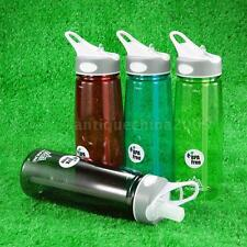 BPA Free 750ml Water Bottle Water Bottle Cycling Camping Sport Water Bottle K7T9
