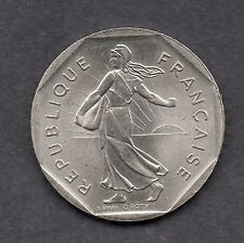 France 2 franc 1979 coin Uncirculated