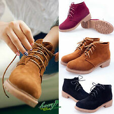 LADIES WOMENS NEW FASHION ANKLE LACE UP RUBBER GRIP SOLE GLITTER BOOTS SHOE SIZE