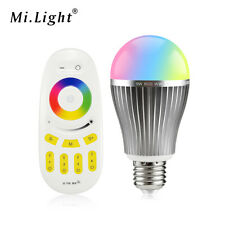 E27 9W RGB RGBW RGBWW Mi Light LED Bulb Night light 2.4G RF Remote Control lamp