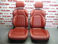 HYUNDAI COUPE 07-09 COMPLETE INTERIOR RED LEATHER 0000302509