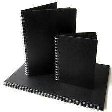 Black Pages Scrapbook, A3/A4/A5, Portrait, Photo Album, Display Sketchbook Large