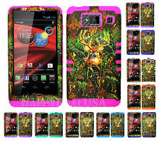 KoolKase Hybrid Cover Case for Motorola Droid Razr Maxx HD XT926m CAMO MOSSY DR
