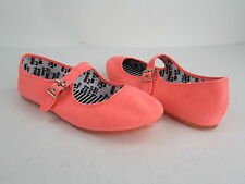 NEW Women's DV8 Dolce Vita Neon Canvas Mary Jane Shoes