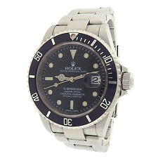 Rolex Submariner 16610 Stainless Steel Automatic Black Watch V Serial