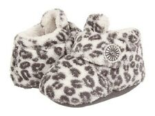 UGG Australia Infant Bixbee Snow Leopard White/Grey - Size 2/3 & 4/5