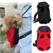 1pc Durable Pet Puppy Dog Carrier Backpack Front Net Bag Tote Carrier Sling Tote