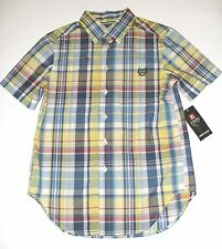 Chaps by Ralph Lauren Plaid Casual Button-Down Shirt NWT New 8, 14-16 or 18-20