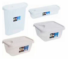 Wham Plastic Food Storage Containers Lunch Box Kitchen Cake Cereal Sandwiches