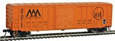 Walthers 910-2135 HO Vermont Railway 50' ACF Exterior Post Boxcar #4008