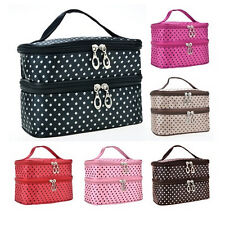 New Woman Portable Travel Beauty Case Makeup Cosmetic Set Toiletry Holder Bag EF