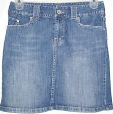 Womens Skirt Blue Denim, Sz 6, American Eagle, Awesome
