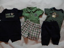 NWT 3-6 Gymboree SMART LITTLE GUY ROMPER