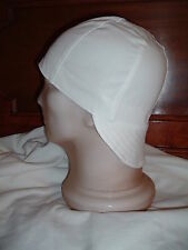 Welding Hat Welders Cap Painters Hat - Solid White - Biker Cap Hard Hat Liner