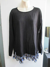 NWT Misses Knit Top, Shirt, Sweater by ELLE, Layered Look!