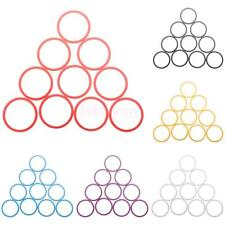 """10x Washers Headset Spacer Aluminum Alloy For 1-1/8"""" Road Bike MTB Bicycle Stem"""