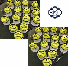 **50% DISCOUNT** 30 x PRECISION MISSION FOOTBALLS (Soft touch) - FLUO YELLOW