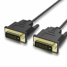 High Quality Gold Plated DVI to DVI-D 24+1 Dual Link Cable Male Video Adapter