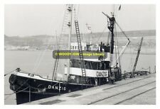 rp8870 - German Bugsier Tug - Danzig , built 1938 - photograph