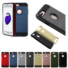 For Apple iphone 7 Plus Hybrid Fusion Shockproof TPU Hard Back Case Cover