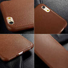 Hot Ultra-thin Leather Soft TPU Matte Back Case Cover For Apple iPhone 7/7 plus
