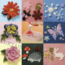 Brand New Clover Needle Felting Applique Punching 3D Mold Mould
