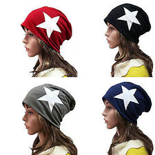 Fashion Unisex Warm Winter Beanie Hat Slouchy Ski Hat Oversize Hip Hop Cap