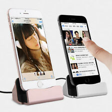 USB 3.1 Desktop Charger Dock Station Cradle Sync Charging For iPhone 5/6/7 iPad
