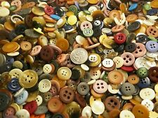 New lots of 100 Sewing Buttons assorted mixed color & sizes  1/4 inch to 3/4 in.