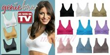 Comfort full-coverage Sports Bra Sleep Bra with removable pads S-XXXL
