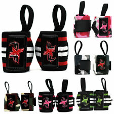 Power Weight Lifting Wrist Wraps Supports Gym Training Fist Straps 13""