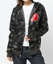 A BATHING APE [COCA-COLA BAPE] COCA COLA CAMO FULL ZIP HOODIE Womens From Japan