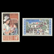 CYPRUS 1963 RED CROSS MNH SET OVERPRINTED SPECIMEN