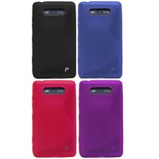 Fosmon Durable S Shape Soft TPU Gel Silicone Case Cover Skin for Nokia Lumia 820