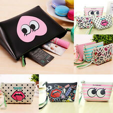 newTravel PU Cosmetic Makeup Bag Toiletry Organizer Storage Case Pouch tool
